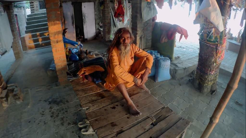 Another sadhu at Mehandipur