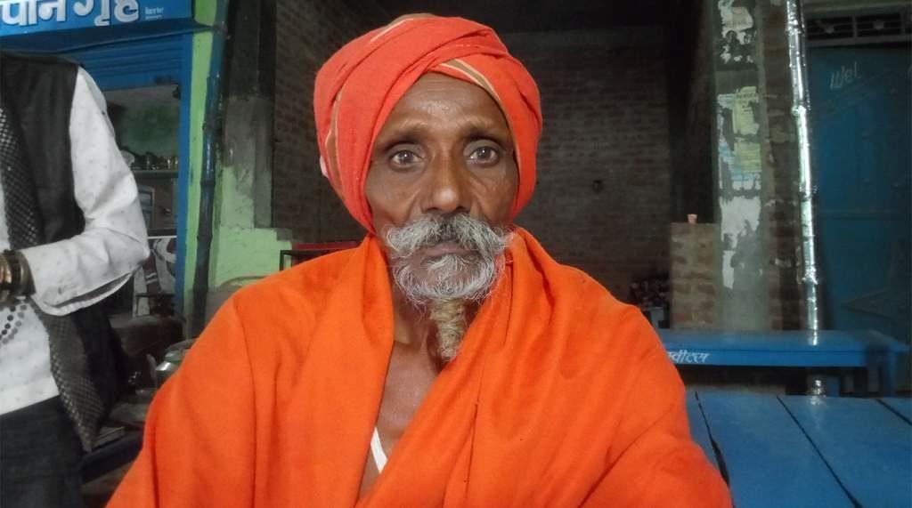 The naga sadhu I stayed with
