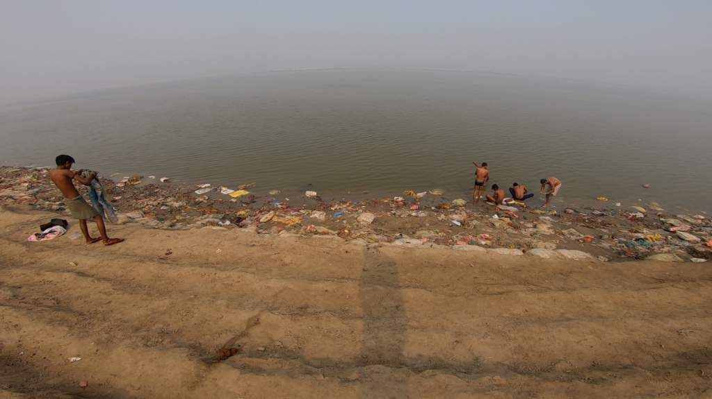 Patipul Ghat was full of trash
