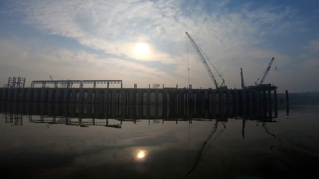 River port being constructed at Samda